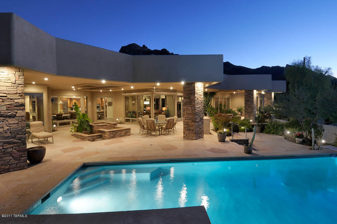 September 2012 tucson luxury homes for Upscale homes